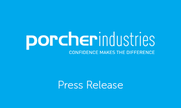 Press release Porcher industries
