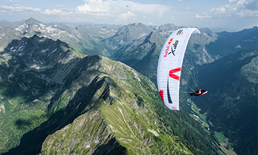 Porcher Sport donne des ailes à la course Red Bull X-Alps 2019