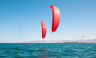Enata Kites is using Porcher's Sport Skytex range!