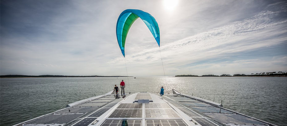 Kites for cargo! A new goal for Yves Parlier and technical textiles  leader Porcher Industries